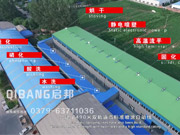 500-meter long double scale painting line put into use at 6th Jun 2017.