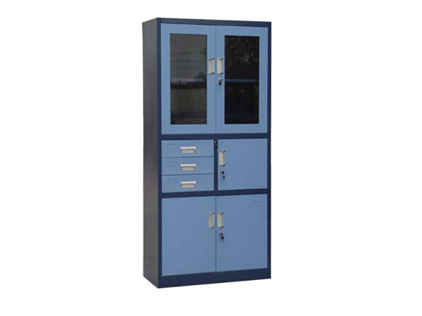 Steel File Cabinet with Safe Box