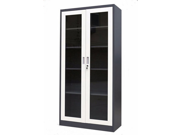Steel Glass Door Cabinet