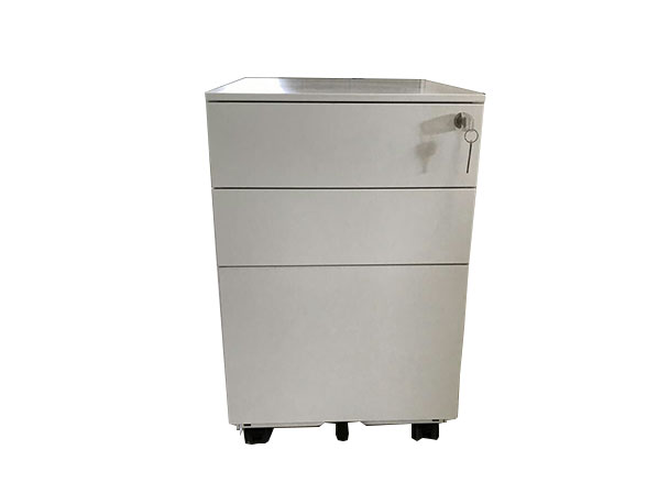 Modern 3 Drawer Steel Cabinet