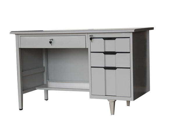 3 Drawer Steel Office Table