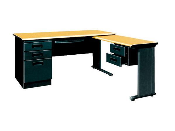 Executive Steel Office Table