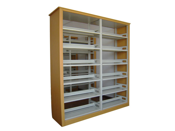 Steel Book Shelf for Library